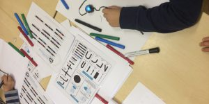 Ozobot in de klas